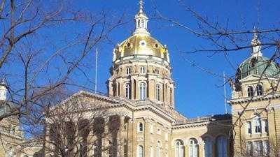 Politics - capital building Iowa statehouse generic - 30169970