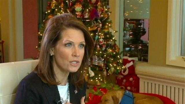 Lunch With Candidates Michele Bachmann - 30117435