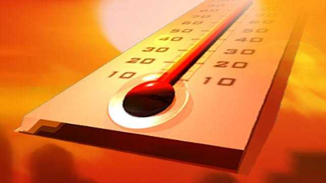 Weather thermometer heat