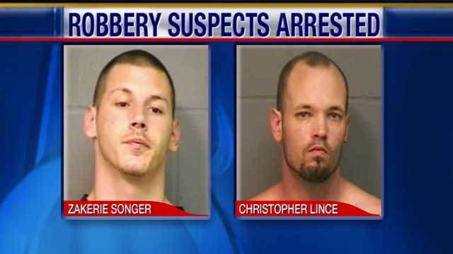 Robbery charges