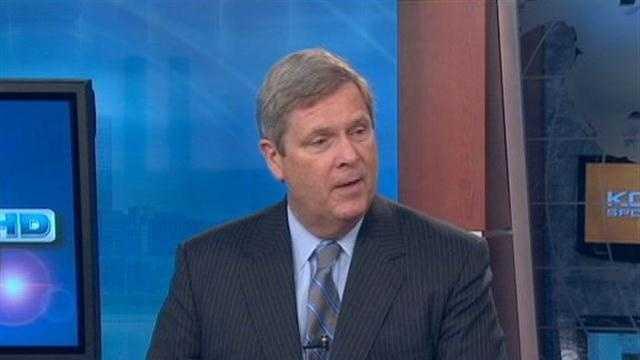 Tom Vilsack explains why Obama's back in Iowa