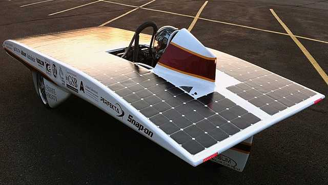 ISU solar car