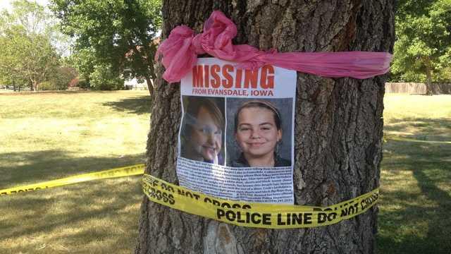 Missing girls poster