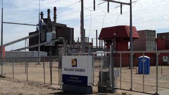 Alliant power plant marshalltown iowa