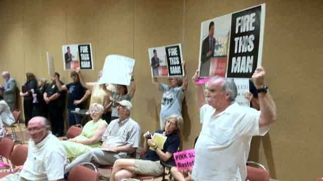 Protesters regents meeting