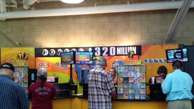 Powerball state fair