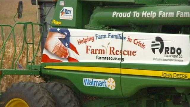 Injured farmer gets helping hand