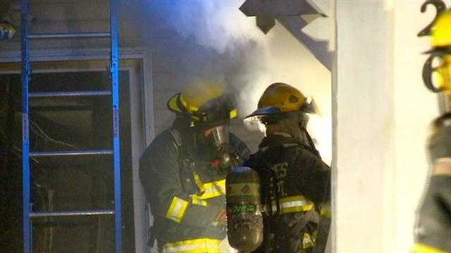 Home catches fire while owner is away