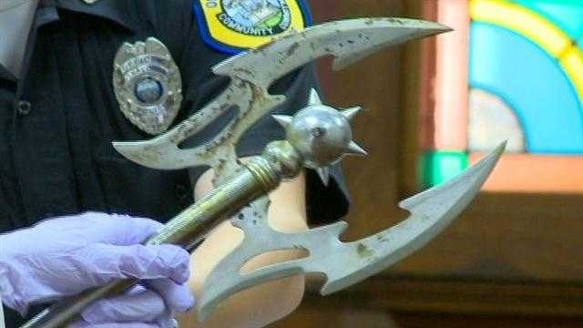 Battle axe case