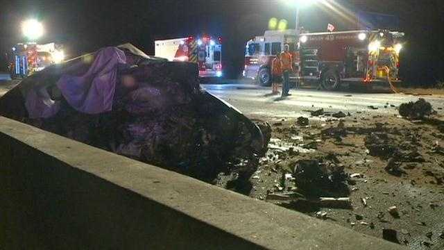 Two killed in head-on wrong way crash