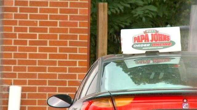 Robbers target pizza