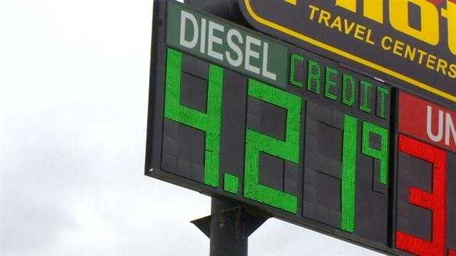 Soaring diesel prices take toll on Iowa businesses