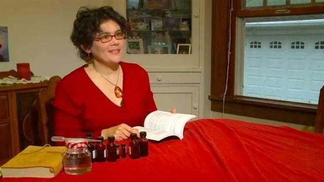 Iowan creates music inspired prefumes