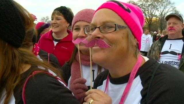 Mustache support for breast cancer