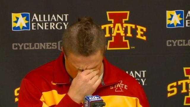 ISU LB Knott breaks down as career ends early