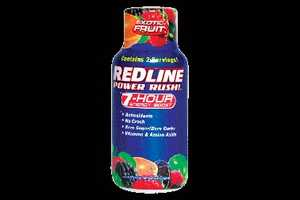 Redline Power Rush is actually called an energy shot.  This little 2.5 ounce bottle provides 350 milligrams of caffeine.
