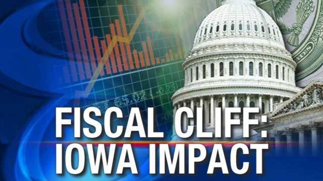 Fiscal cliff iowa impact
