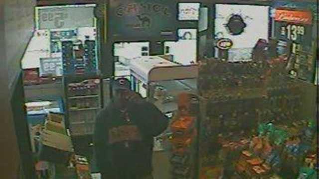 Gas station rob suspect