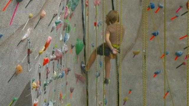 Rock-climbing wall closes after accident