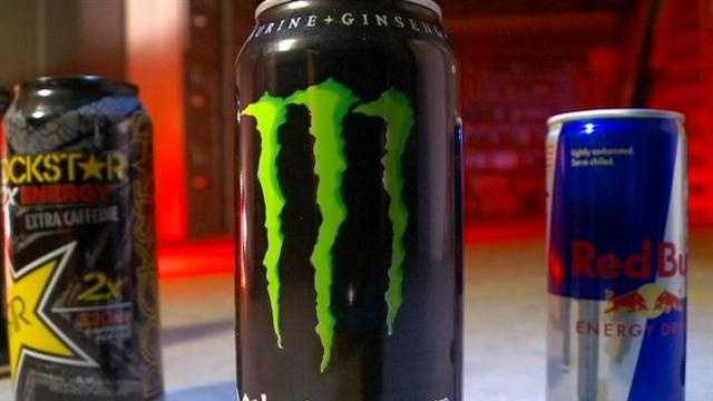 How much caffeine is in energy drinks?