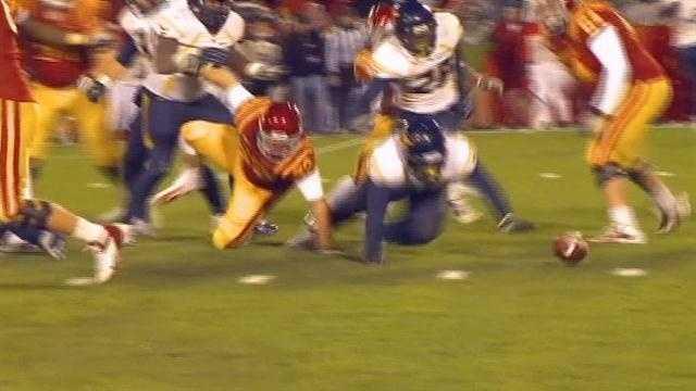 Late fumble costly as ISU loses 31-24