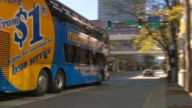 Megabus responds to the Federal Motor Carrier Safety Administration's report giving it a poor grade when it comes to driver fatigue.