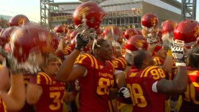 ISU accepts Liberty Bowl invite