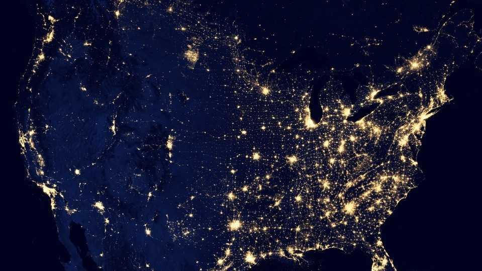 Earth night pic