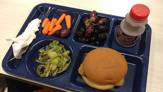 School lunch tray generic