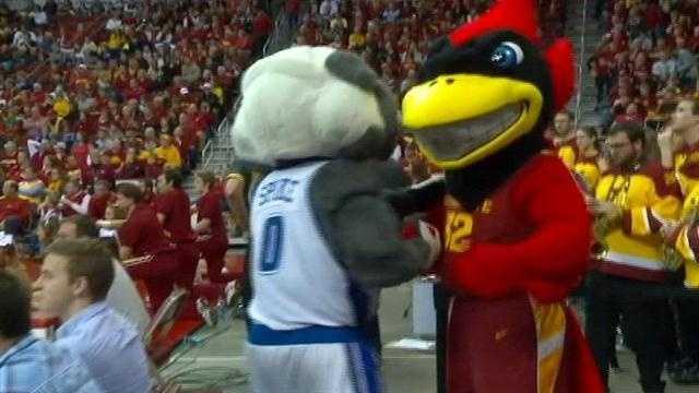 ISU blasts Drake in Big Four Showdown