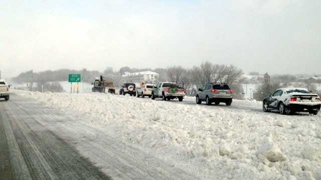 Snow traffic i8035