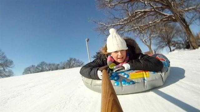img-Iowa sledders make up for lost time