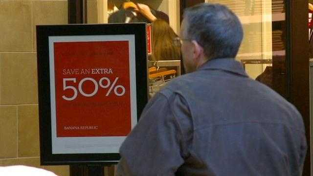 Iowans like the nation are not spending as much this holiday shopping season.