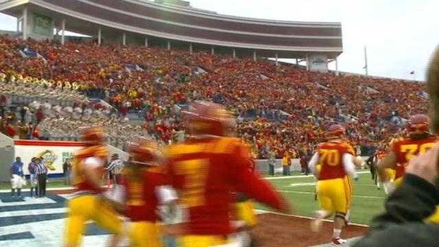 Cyclones huge crowd at 2012 Liberty Bowl