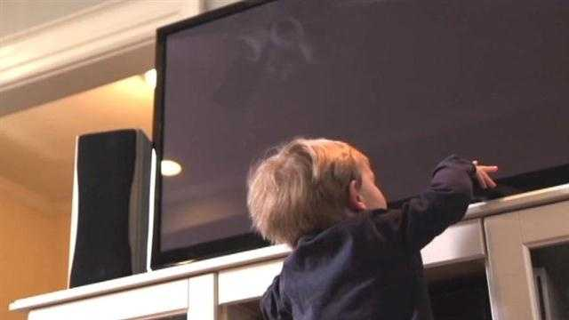 Report: Child dies every three weeks from falling TV