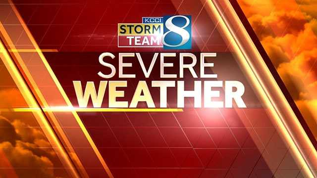 KCCI Severe Weather 2013