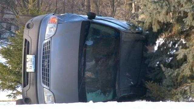 Rollover crash 2 cu