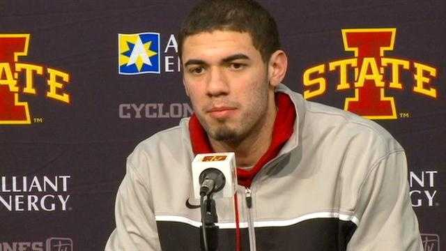 Georges Niang is making folks outside the ISU locker room take notice.