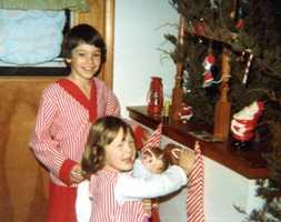 Christopher (7 1/2) and Sarah - Christmas 1979