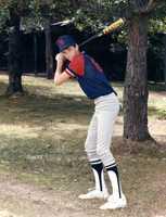 Christopher (13) at Mickey Owens Baseball Camp, Springfield, MO - 1985
