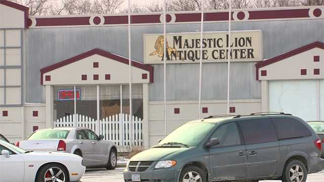 Majestic lion antiques exterior