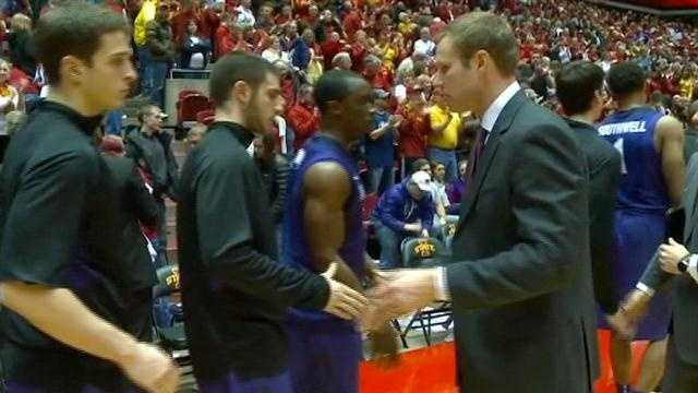 Senior Will Clyburn scored 24 points as ISU bounced back from a loss at Texas Tech
