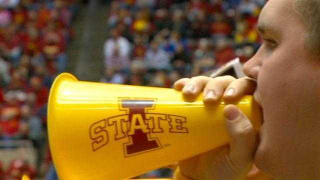 There seems to be no lack of energy -- or noise -- at Hilton Coliseum where the home of the Iowa State Cyclones is making headlines because of its deafening roar.