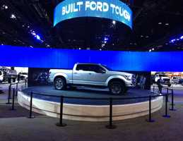 Ford also showed off their new Atlas concept truck.
