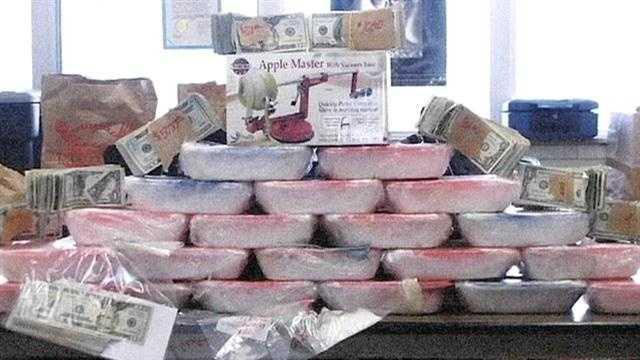 Deputies intercept massive meth shipment