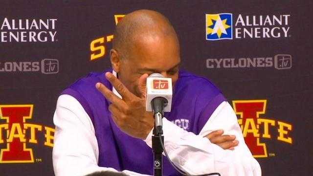 ISU rolls, TCU coach forgets nickname