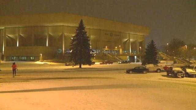Despite snow, the show went on