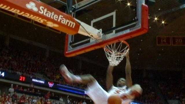 Melvin Ejim recorded yet another double-doube as ISU tuned up for Kansas with a blowout win over the Red Raiders