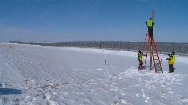 Snow fence research