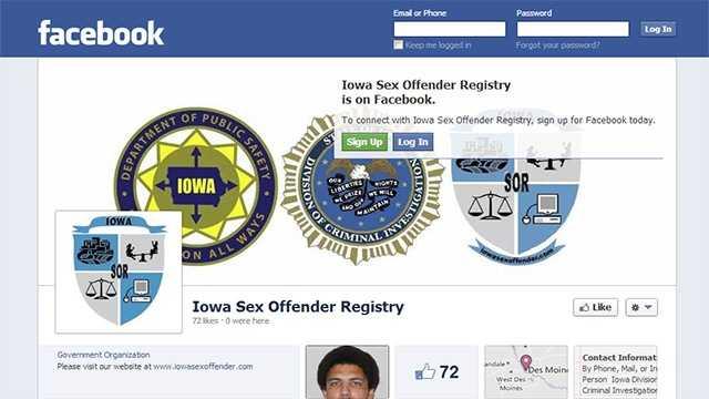 Iowa sex offender